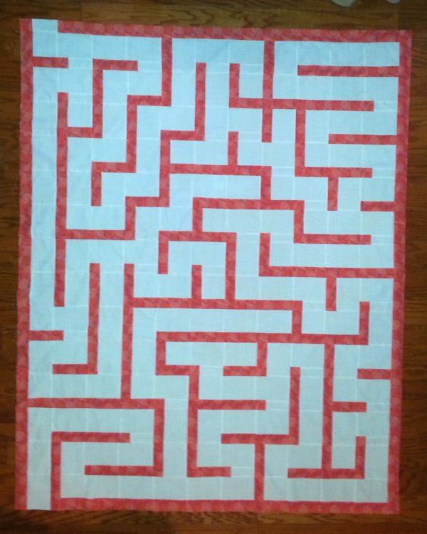 Amazement Maze Quilt Pattern