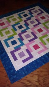 Jaded Chain Baby Beginner Quilt Pattern