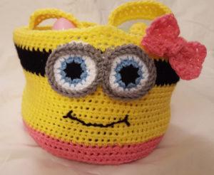 Crochet Minion-Inspired Basket Pattern