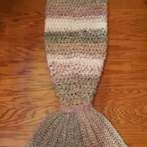 Mermaid Tail Afghan