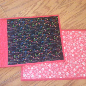 Quilted Reversible Placemats