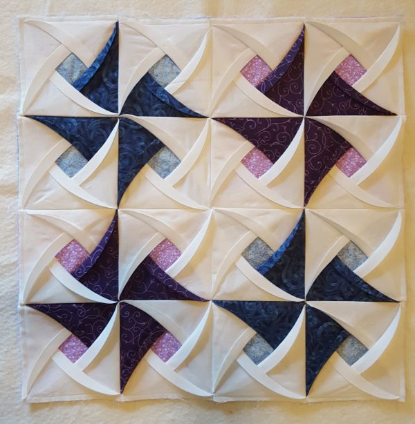 Pinwheel Surprise Quilt Block Pattern