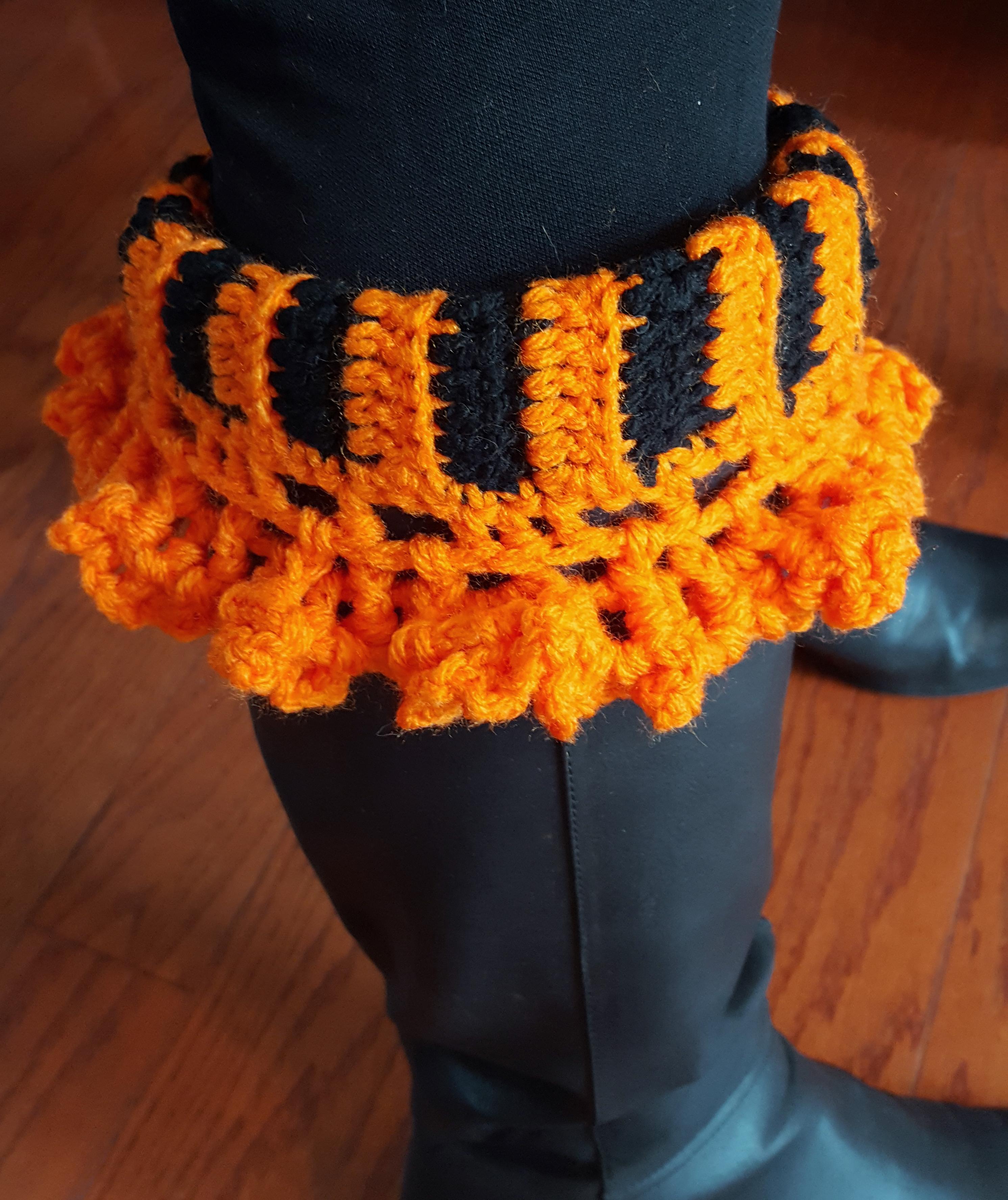 Ruffled Boot Cuff Pattern