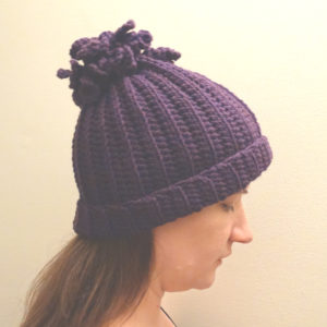 Curly-Q Winter Cap
