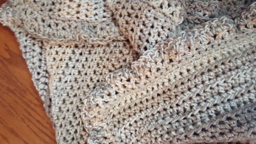 Easy Ruffled Afghan Pattern