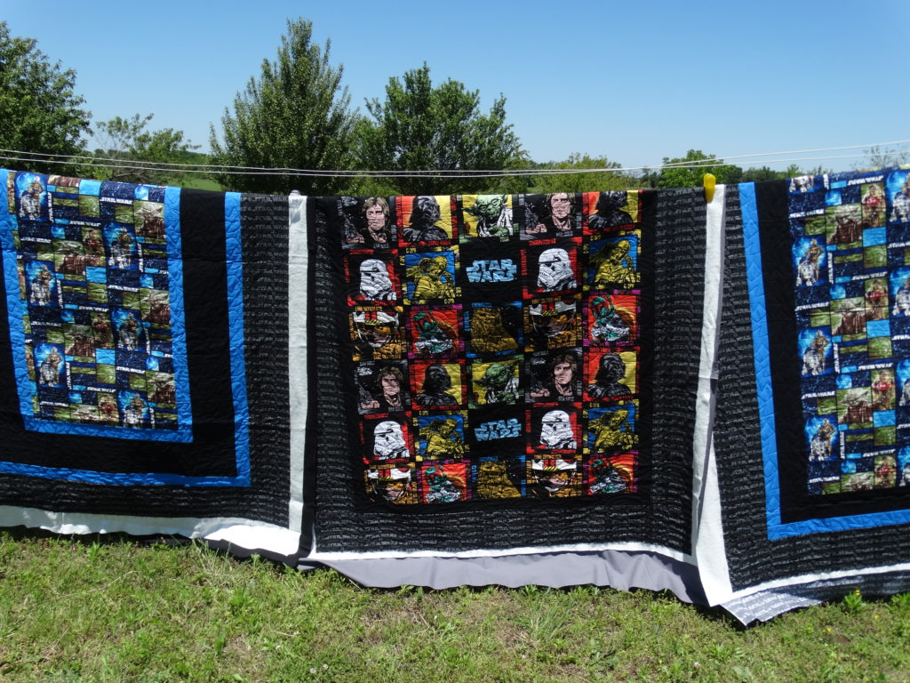 Outdoor Quilt Photo Shoot