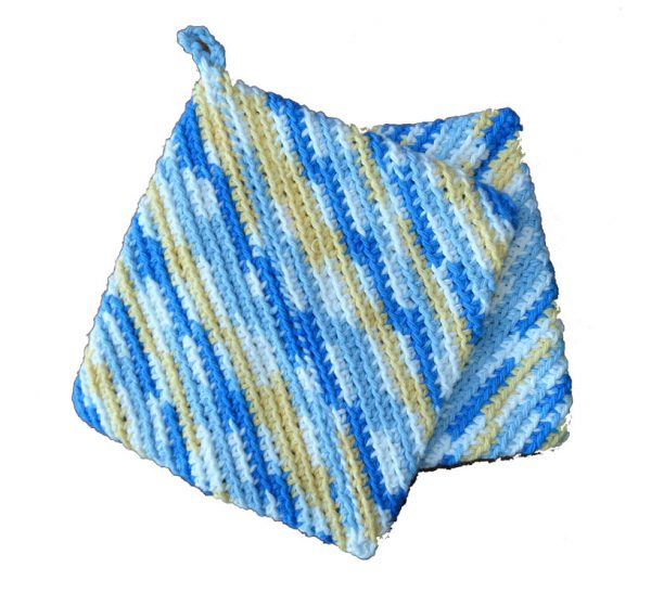 Hot Pad Pot Holders - Yellow