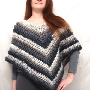 Silver Lining Poncho
