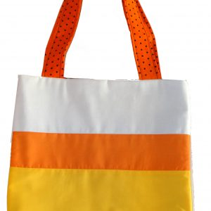 Candy Corn Halloween Trick or Treat Bag