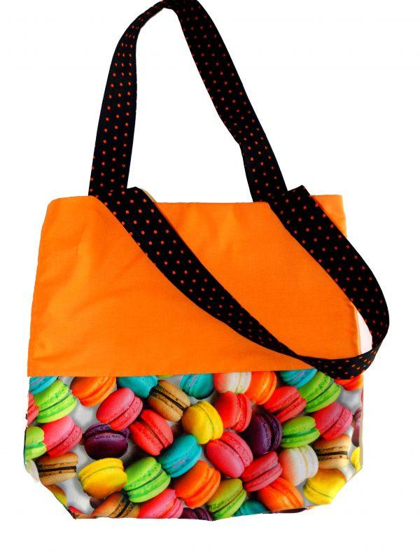 Macaron Halloween Trick or Treat Bag