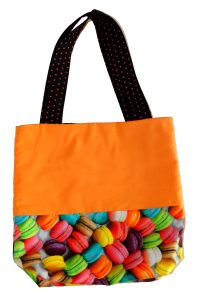 Macaron Halloween Trick or Treat Bag