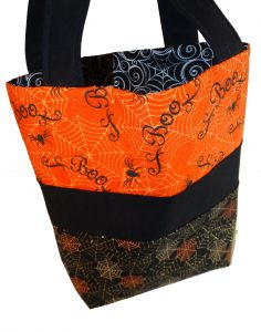 Spiders Halloween Trick or Treat Bag