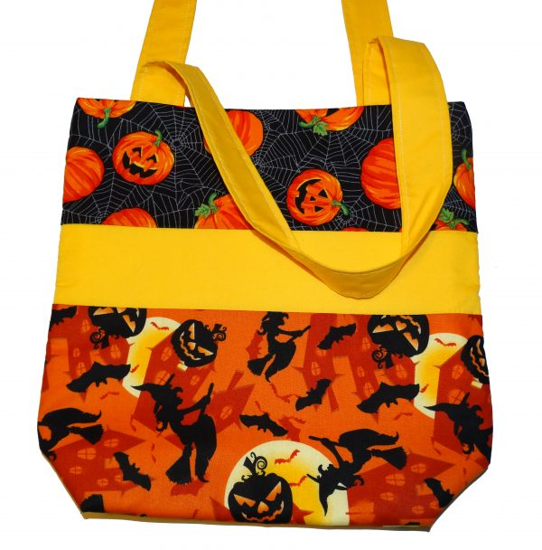 Pumpkins Halloween Trick or Treat Bag
